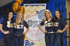 Phi Sigma Sigma at University of Delaware #PhiSigmaSigma #PhiSig #recruitment #rush #sorority #Delaware