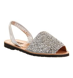 Solillas Solillas Sandal Silver Glitter - Sandals - these are my faves @ Office