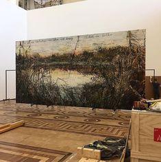 Landscape Art, Landscape Paintings, Landscapes, Abstract Paintings, Contemporary Abstract Art, Contemporary Artists, Anslem Kiefer, Art Journal Techniques, Famous Artists
