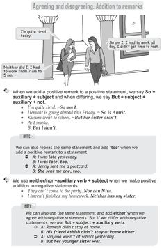 Grade 9 Grammar Lesson 37 Addition to remarks English Grammar Rules, English Grammar Worksheets, English Sentences, Grammar Lessons, English Language Learning, English Vocabulary, Grammar Book, French Language, Learning Spanish