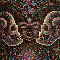 sacred mirrors alex grey - Google Search