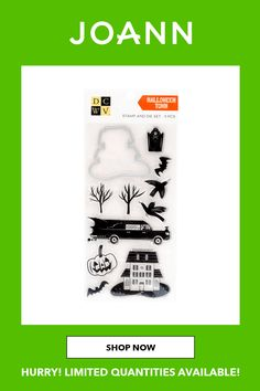 Halloween Town, Joanns Fabric And Crafts, Clear Stamps, Scrapbooks, Craft Stores, Favorite Color, Decorations, Shapes, Colors