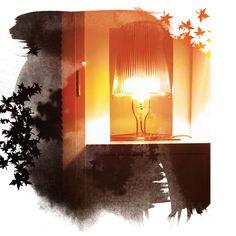Lampe Kartell orange