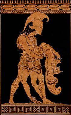 Achilles-and-Pentheselia-greek-vase