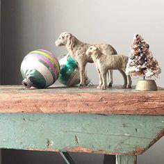 Vintage Christmas, Christmas Time, Xmas, Cozy Christmas, Christmas Ideas, Fall On Your Knees, Primitive Country Christmas, Happy Holidays, Sheep