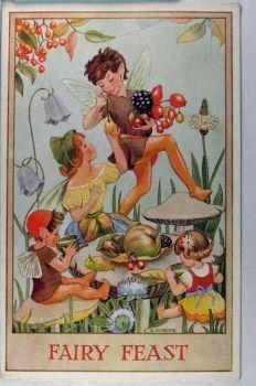 Vintage fairy feast Sherborne