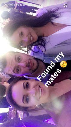 On Danielle's Snapchat