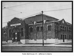 Between 1907 and 1937, six public bath houses were built in St. Louis so all residents -- not just the wealthiest -- could enjoy the luxury of good hygiene. The last operating bath house ceased operations in 1965; it is the only one still standing today.