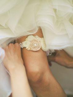 Ślub - dodatki-Podwiązka ślubna