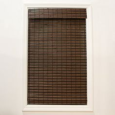 Bamboo Blinds, Bamboo Roman Shades, New Homes, Blinds For Windows, Fabric Shades, Bamboo Light, French Door Curtains, Blinds, Light Filter