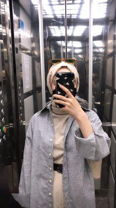 Modest Fashion Hijab, Hijab Chic, Muslim Fashion, Fashion Outfits, Hijabi Girl, Girl Hijab, Hijab Outfit, Girls Hub, Girly Images