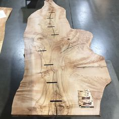 Norwegian Maple with Black Ebony inlays DIY folks, it's your time to shine!! We are currently thinning out our herd. We have hundreds of live edge slabs to choose from. An array of species and sizes, you're sure to find what you're looking for! Stop by...