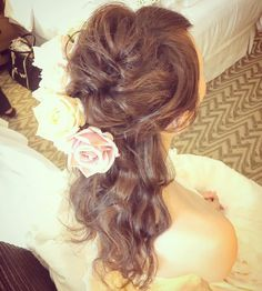 Today's bride💍 ゆるっと動きをだして♡ #kumikoprecious #hawaii #hawaiiwedding #wedding #wedding #weddinghair #hair #hairmake #hairstyle #hairarrange #halfup #ハワイ #ハワイ挙式 #ハワイウェディング #ウェディング #結婚式 #花嫁 #プレ花嫁 #おしゃ花嫁 #ヘアメイク #ヘアスタイル #ヘアアレンジ #ゆるふわ #ルーズ #波ウェーブ