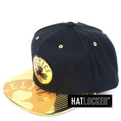 bc84cce755910 Mitchell   Ness - Boston Celtics Gold Standard Snapback