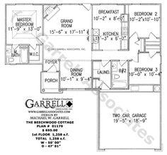 Beechwood Cottage House Plan | House Plans by Garrell Associates, Inc
