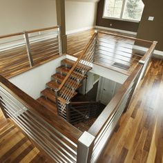 Stainless Steel Staircase Railing Design, Pictures, Remodel, Decor and Ideas