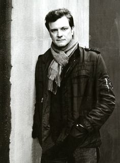 Colin Firth photographed by Anton Corbijn