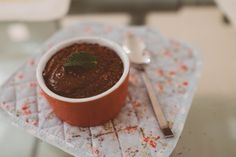 Chocolate Mousse // Deliciously rich dark chocolate mousse // http://desiredcooking.com/recipes/chocolate-mousse