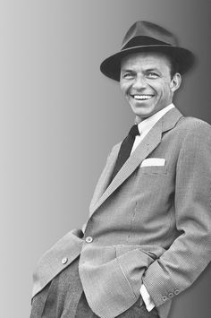 Frank Sinatra..what a hunk
