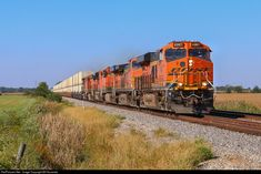 RailPictures.Net Photo: BNSF 4267 BNSF Railway GE ES44C4 at Mazon, Illinois by Bill Kosanda Bnsf Railway, Diesel Locomotive, Santa Fe, Illinois, Transportation, Cars, American, Locomotive, Autos