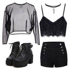 """Untitled #131"" by fangirl-trash ❤ liked on Polyvore featuring Yves Saint Laurent"