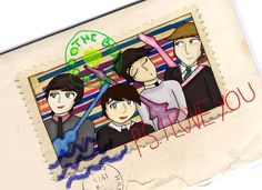 P,S. I LOVE YOU BEATLES by Dandy Narusaku.