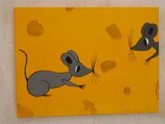 Muizen in de kaas/ mice in the cheese  by Cocky van Basten
