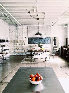 San Francisco / Le studio de la céramiste Rae Dunn /