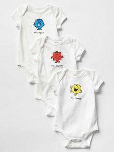 Mr. Men&#153 Little Miss&#153 + babyGap bodysuit (3-pack) Product Image