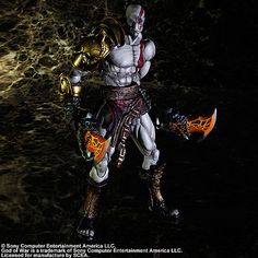 NEW God of War Kratos action figure toy Christmas gift Kratos God Of War, Action Figures, God Of War Series, Modern Games, Halloween Toys, Gods And Goddesses, Happy Mothers, Doll Toys, Toys