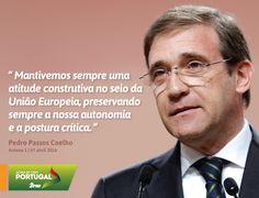 Pedro Passos Coelho, Presidente do Partido Social Democrata, em entrevista na Antena 1. #PSD #acimadetudoportugal