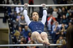Briannah Tsang placed fifth in the all-around at NCAA Division 1 regional championships for Penn State University
