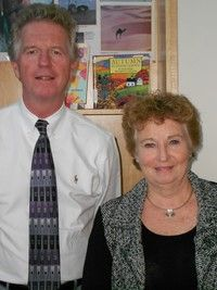 Paul McCarthy and Pat Fish, Title I Family Coordinators - click for larger image
