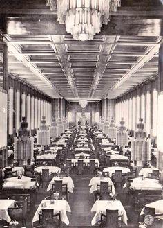 Normandie salle à manger de 1ère classe