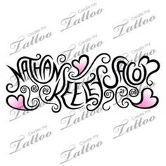 Tattoo with children's names...Omg I love this, shows kids names and their dob by mavis