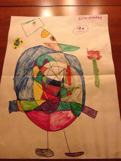 A marker drawing by Elizabeth, 6 #kidsart