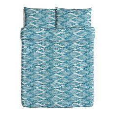 MALIN BLAD Duvet cover and pillowcase(s) IKEA