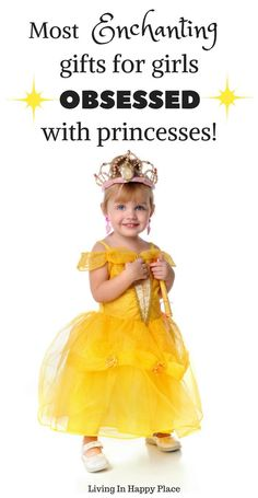 Disney princess gifts kids will trade in their tiara for! Looking for the perfect gift idea for your favorite Disney Princesses fanatic for a princess birthday or Christmas gift idea? Here are the 5 most enchanting Disney princess gifts for a 3 year old, a 4 your old, a 5 year old- or a princess of any age! #princess #giftideas #princessgiftideas #disneyprincess #giftideasforgirls