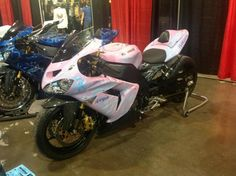 Frankenstein ZX10 as seen at the Toronto Spring Motorcycle Show on March 16-17, 2013.