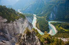 Vorderrhein in Switzerland