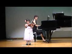 ヴァイオリン発表会 [Hunter's Chorus but not the Suzuki version]—See more of this young violinist #from_nanamikazusi