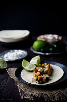 Grilled Portabella Tacos by Savory Simple [MAY FEATURED RECIPE]