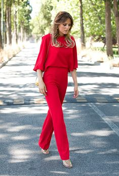 Jumpsuits Show Class And Elegance!  - Maybe I'll have the guts to wear this to work!..