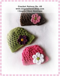 PDF Crochet Pattern Brimmed Newsboy Beanie Hat  by AngelsChest, $6.99