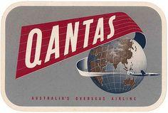 qantas travel label