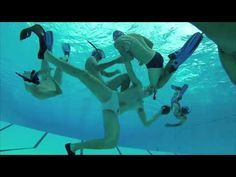 Underwater Rugby Somehow Makes Rugby More Dangerous Underwater Rugby, Rugby Club, Swimming Pools, Aquarium, Photo And Video, Funny, Top, Fish Stand, Pools