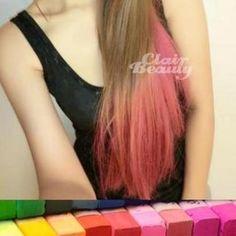 Hair-Color Pastels