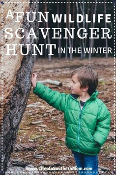 One of my favorite ways to get the kids out and about in the winter is to encourage a winter wildlife scavenger hunt! scavenger hunt ideas outdoor fun winter activities scavengerhunt outdoors 25 winter activities for boys Fun Winter Activities, Outdoor Activities For Kids, Infant Activities, Science Activities, Sick Kids, Kids Fun, Winter Fun, Winter Theme, Camping With Kids
