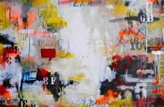 "Saatchi Art Artist Lorette C Luzajic; Abstract Painting, ""The Answer's in the Question"" #art"
