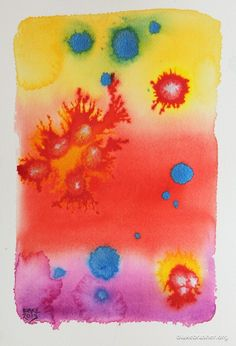 Petri 12 (endoplastic particulate) - 10.25 x 7 inches, watercolor and ink on paper.  2013 Blake Brasher